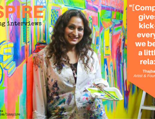 Interview with Artist Thajba Najeeb